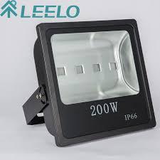 Outdoor Flood Light Fixtures Waterproof Factory Sale Energy Saving Led Outdoor 200w Slim Flood Light