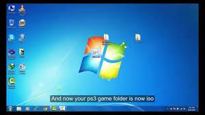 cara membuat file iso dari file di hardisk how to convert ps3 game folder into iso file youtube