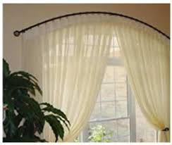 Arch Window Curtains Curved Curtain Rod For Arch Window Curtains Wall Decor Pertaining