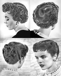 nice hairstyle for woman late 50s hair styles of the last 100 years social serendip