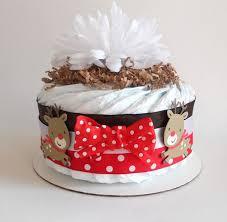 27 Best Christmas Diaper Cakes Images On Pinterest Diaper Cakes
