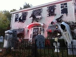 Halloween House Lights Halloween Houses Decorated Bagged And Boarded 9 Michael Bay
