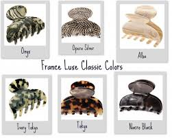 jaw clip luxe classic colors the luxe look