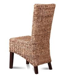 rattan dining room furniture rattan wicker dining room chair u2013 banana leaf weave solid mahogany