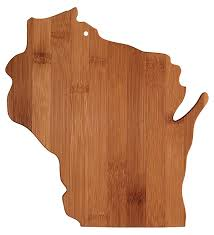 Funny Cutting Boards by Amazon Com Totally Bamboo State Cutting U0026 Serving Board
