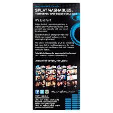 developlus splat washables 4 pink hair color 1 5 oz walmart com