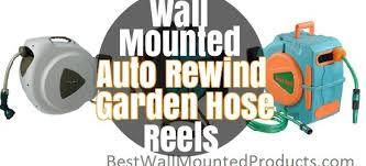 best wall mount automatic garden hose reel 2017 best wall