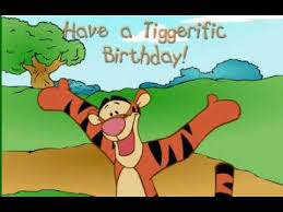 disney u0027s winnie the pooh animated tigger happy birthday e card