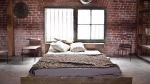 creative industrial bedroom design home decor color trends