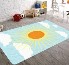 sun decor nursery rug nursery decor boy baby floor mat sun