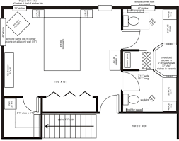 Bathroom Floor Plans By Size by Standard Master Bedroom Size Inspirations Including Ftft Bathroom