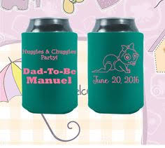 baby shower koozies customized baby shower koozies are the best party favors for your