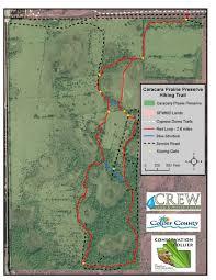 Fgcu Map Caracara Prairie Preserve Collier County Fl