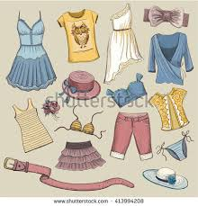 collection vector images on theme summer stock vector 413994208