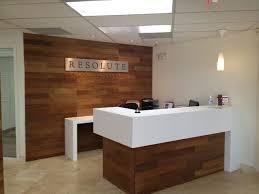 Commercial Reception Desk Custom Reception Desk Resolute Commercial Services Scottsdale Az
