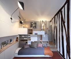 Mini Apartments Tiny Paris Apartment Transformed Into A Functional Home