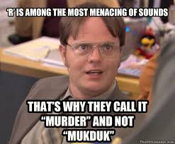 Murder Meme - the office isms meme isms