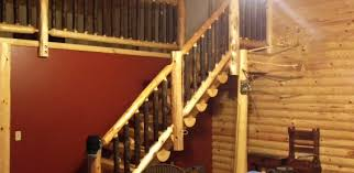 What Are Banisters Log Railings For Easy Installation Northern Log Supply