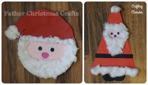 two father christmas crafts craftingcherubsblog