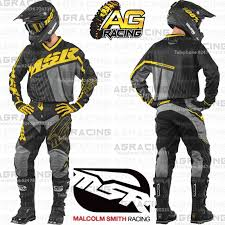 msr motocross boots msr 2017 axxis black yellow grey jersey u0026amp pants combo kit
