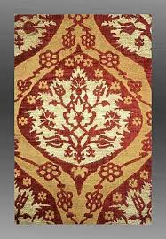 Ottoman Design Silk And Wool Ottoman Textile Designs In Turkish Rugs