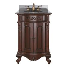 20 Inch Bathroom Vanity by Shop Avanity Provence Antique Cherry Bathroom Vanity Common 24