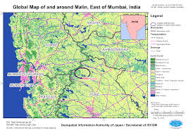 Mumbai Map Landslide Disaster Of Western India Aug 2014 Gsi Home Page