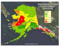 Nome Alaska Map by Deep Cold Interior And Northern Alaska Weather U0026 Climate January