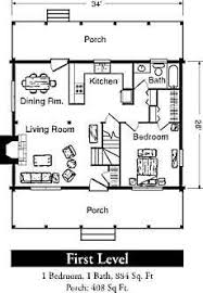 Cabin Designs Plans 560 Ft 20 X 28 House Plan Small Home Plans Pinterest