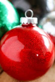 diy glitter ornaments for no 2 pencil
