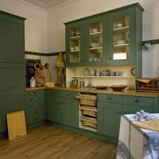 Primitive Kitchen Designs by Green Country Kitchens 1800 Style Kitchen Green Painted Kitchen