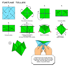 how to make a paper fortune teller artsie craftsy