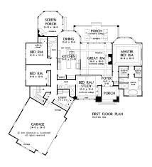 open one story house plans one story house plans with split master and open concept the
