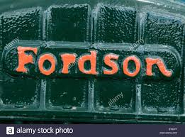 ford old logo green fordson tractor logo name plate antique old collectible