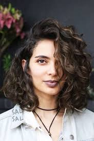 jagged layered bobs with curl 32 cutest curly bob hairstyles haircuts for women in 2018