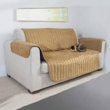 fauteuil canapé protection couvre canapé ou fauteuil beige achat pas cher
