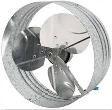 gable mounted all purpose solar attic fan w 12 6 watt pv module