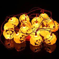 Orange Halloween Lights by 16pcs Halloween Pumpkin Jack O Lantern Lights U2013 Strange And Creepy