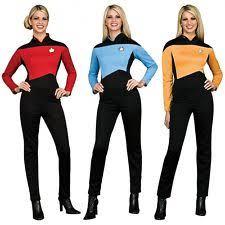 star trek tng uniform costume womens the next generation