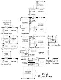 Fox And Jacobs Floor Plans Wellington With Loft New Home Plan Howell Twp Nj Centex Home