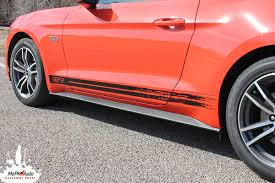 decals for ford mustang breakout rocker 2015 2016 2017 ford mustang rocker panel stripes