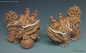 qilin statue feng shui qilin imperial creature ceramic statue
