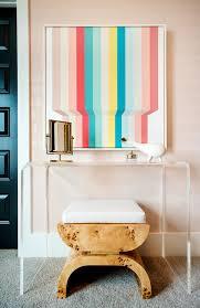 tour a modern fresh blush bedroom domino
