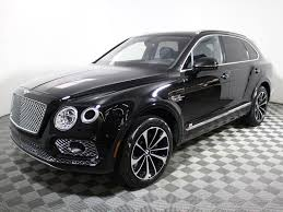 bentley bentayga silver certified pre owned 2017 bentley bentayga w12 sport utility in