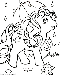 pony coloring pages printable kids colouring pages