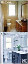 bathroom before and after diy show off diy decorating and