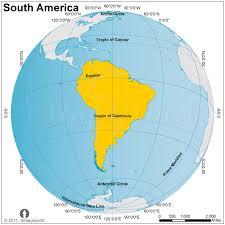 south america map equator south america globe map globe map of south america