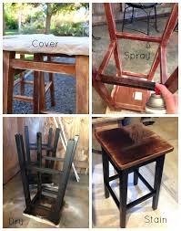 simple bar stool makeover u0026 tutorial