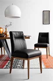 calligaris tosca dining chair a cushioned back and seat