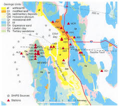 Earthquake Map Seattle by Variability Of Site Response In Seattle Washington Bulletin Of